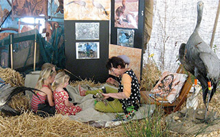 CRANE CONSERVATION SHOWCASED AT COUNTRY FAIR
