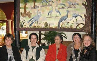 THE CRANE QUILT THAT HAS MADE A DIFFERENCE